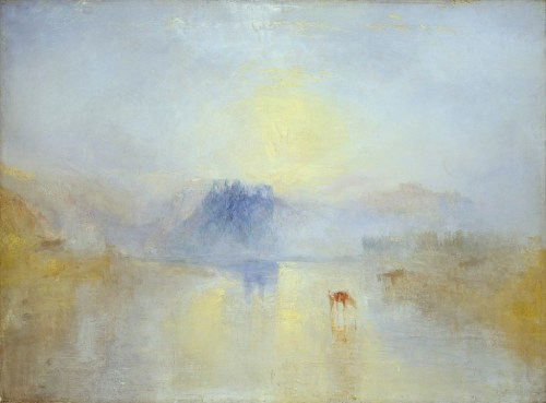 "J.M.W. Turner, ""Norham Castle Sunrise"" - 1845"